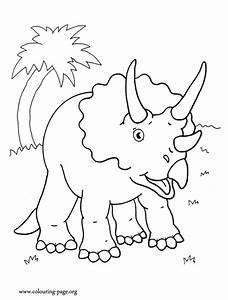 Triceratops Coloring Page Az Coloring Pages