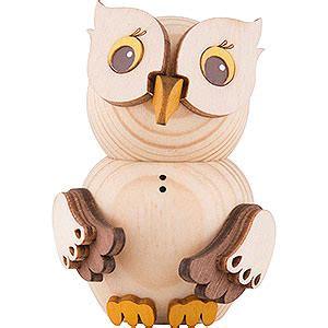 mini owl natural 7 cm 2 8in by drechslerei kuhnert