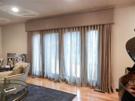 linen window treatment cornice boards great   tone