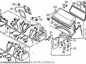 honda gl1200i goldwing interstate 1985 f usa california With goldwing 1200 gl engine diagram get free image about wiring diagram