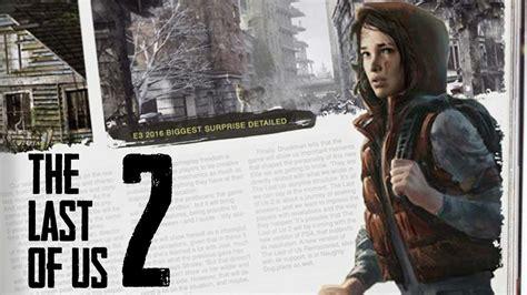 The Last Of Us 2  Erscheint Der Nachfolger 2018