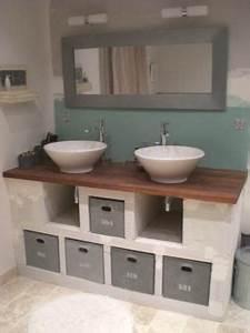 faire son meuble salle de bain With creer son meuble de salle de bain