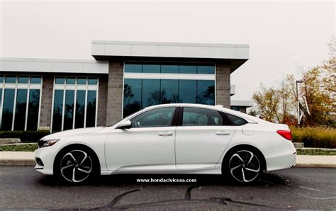 2019 Honda Accord Sport Changes