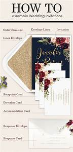 easy steps on how to assemble wedding invitations With handmade wedding invitations step by step