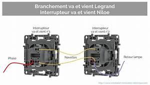 Branchement Variateur Legrand : branchement interrupteur legrand niloe van et nina ~ Melissatoandfro.com Idées de Décoration