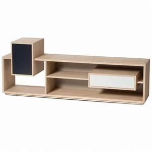 Meuble Tele En Bois : meuble tv mixage ~ Melissatoandfro.com Idées de Décoration