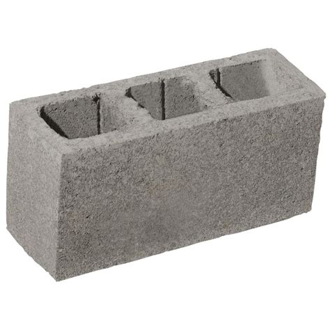 decorative cinder blocks home depot oldcastle 16 in x 8 in x 6 in concrete block 30101820
