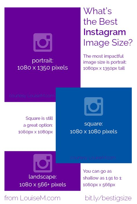 What's The Best Instagram Image Size 2017? Infographic