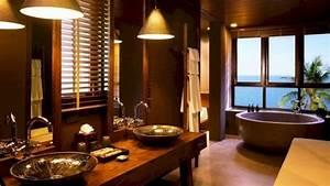 Bathroom, With, Japanese, Home, Interior, Design, 2