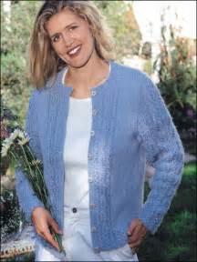 Free Women Cardigan Sweater Knitting Pattern