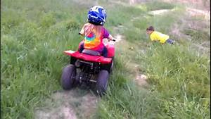 My Kids And Their First Atv Ride