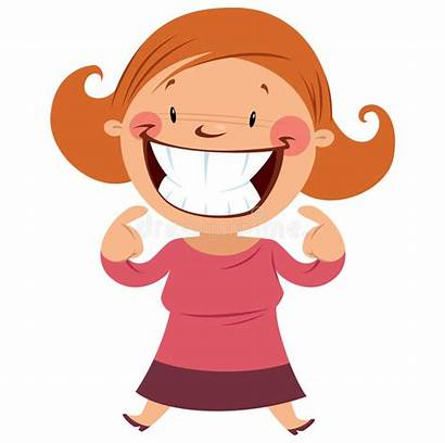 Clipart Smile Smiling Teeth Woman Happy Showing