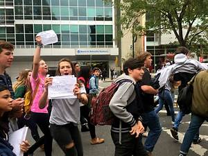 Photos: Md. high school students leave class to protest ...