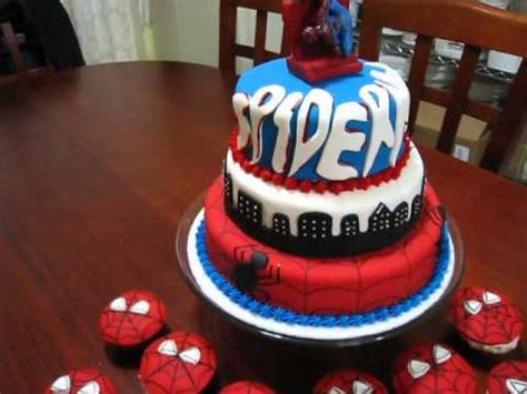 pastel de spiderman youtube