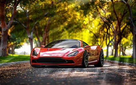 cars aston martin concept red car dbc design  ultra hd