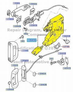 Transit Door Lock  U0026 2017 New Front Right Driver Side Door Lock Barrels With 2 Keys For Ford