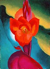 red canna paintings wikipedia