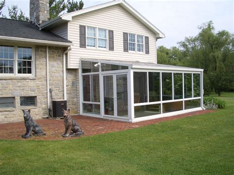Four Seasons Sunroom by Install A Glass Roof Sunrooms Curved Eave