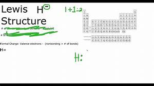 H- Lewis Structure Hydride