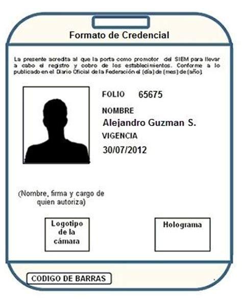 Formato De Credencial   HAIRSTYLE GALLERY