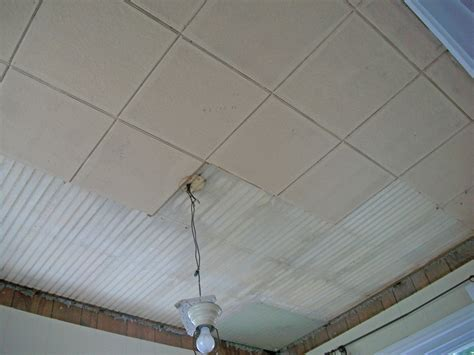 Demo Asbestos Ceiling Tiles John Robinson Decor How To Interiors Inside Ideas Interiors design about Everything [magnanprojects.com]