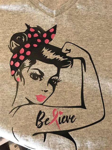 breast cancer awareness tshirt rosie pin  von
