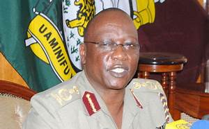 Inspector General of Police David Kimaiyo was 'forced to ...