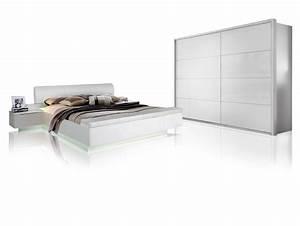 Schlafzimmer Komplett Weiß Hochglanz : silent komplett schlafzimmer weiss hochglanz 4 teilig 270 cm ~ Indierocktalk.com Haus und Dekorationen