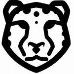 Clipart Leopard Vector Icon Transparent Spots Svg