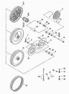 1995 Fxdl Rear Wheel