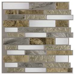 installing kitchen backsplash tile shop peel stick mosaics peel and stick mountain terrain