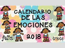 Calendario 2018 trabajamos las emociones 7 Imagenes