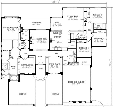 single 5 bedroom house plans european style house plan 5 beds 3 5 baths 3619 sq ft