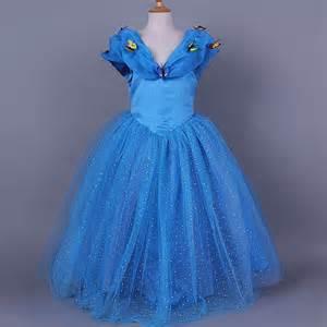 Lastest design fashion cosplay dress princess party costume Anna Elsa Dress