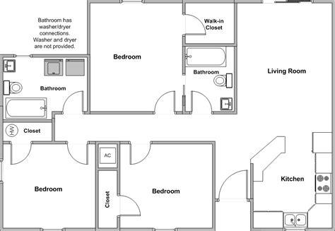3 bedroom floor plan 3 bedroom house floor plans home planning ideas 2018