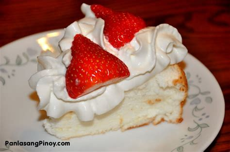 angel food cake  strawberies recipe