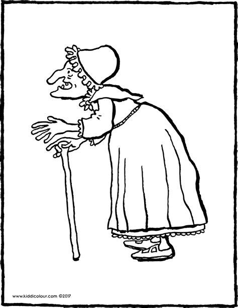 Kleurplaat Heks Hans En Grietje by Heks Kiddicolour