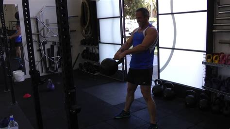 kettlebell lower swing pain