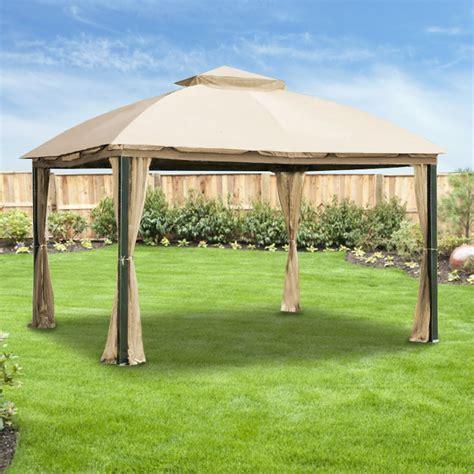 state lot gazebo replacement canopy and net for malibu gazebo riplock 350