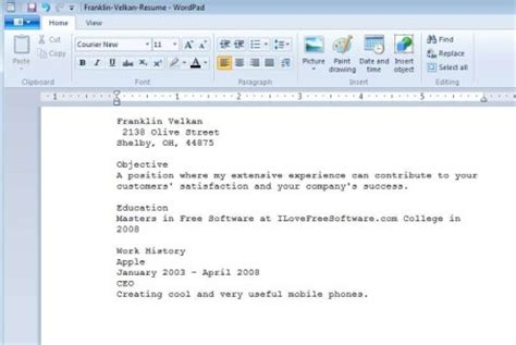 create resumes for free with resume builder