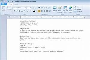 Create resumes online for free with resume builder online for Free resume editing software