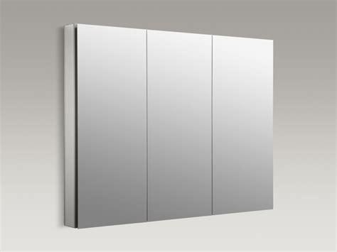 Kohler Tri Mirror Medicine Cabinet by Kohler Catalan45 Satin Anodized Aluminum Catalan 45
