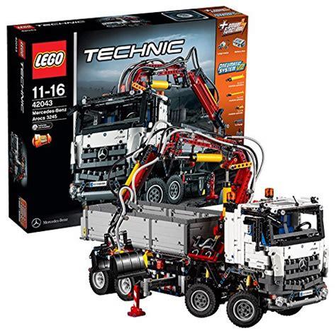 lego technic mercedes lego 42043 technic mercedes arocs 3245 bau test