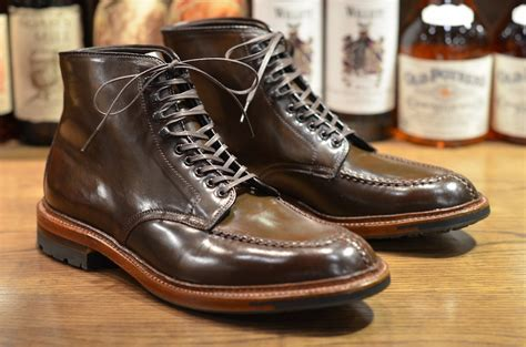 Alden Shoe   Cigar Tanker Boot (LSW)   Leather SoulLeather