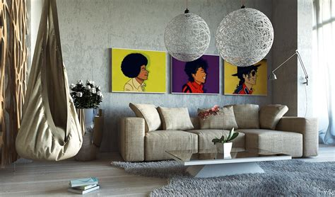 Wake up tired living room walls with creative decor ideas. Large Wall Art For Living Rooms: Ideas & Inspiration