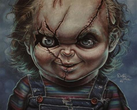 Chucky Painting By Gimgams