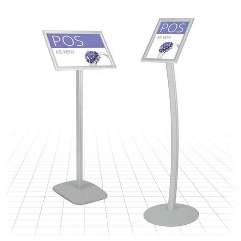 menu stand point  sale