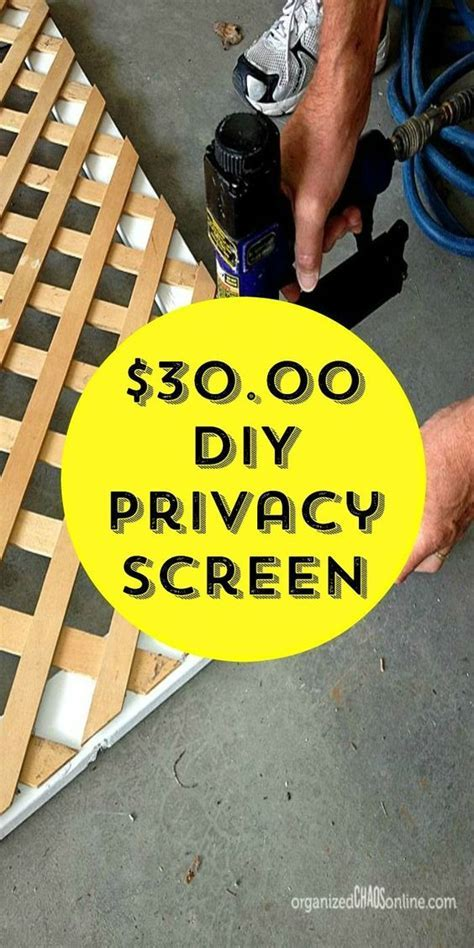 How to Make an Easy Patio Privacy Screen   Sun, Patio