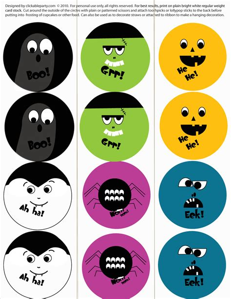 printable halloween free printables from clickable catch my