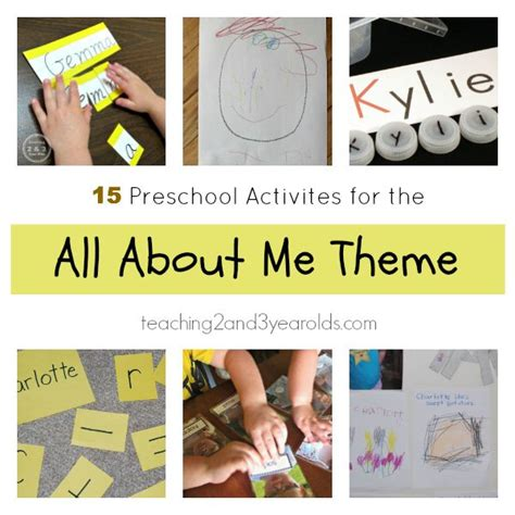 106 best images about all about me preschool theme pinterest preschool ideas classroom